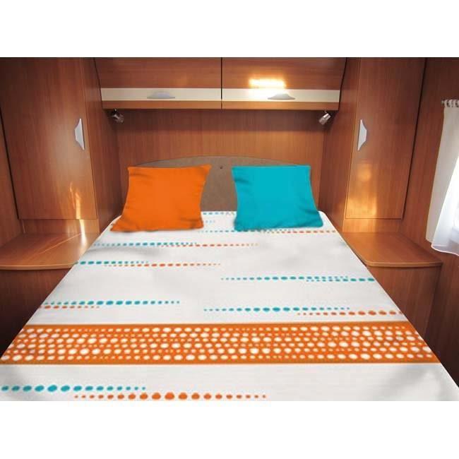 linge de lit tout en un Lit Tout Fait Frise 140x210 cm   Linge de lit camping car   Achat  linge de lit tout en un