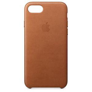 COQUE - BUMPER Coque en cuir pour iPhone8/7 - Havane