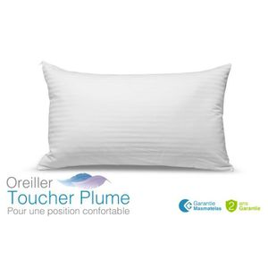 OREILLER Oreiller Toucher Plume 60x40