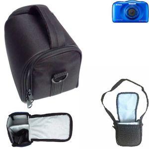 APPAREIL PHOTO COMPACT Pour Nikon Coolpix S33: Sac d'épaule - Sac de tran