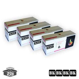 TONER 4 x CARTOUCHES DE TONER NOIR COMPATIBLE SP212 BK p