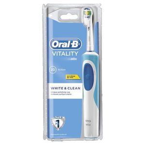 BROSSE A DENTS ÉLEC Oral-B Vitality White Plus Clean - Brosse à Dents