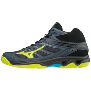 4a38fc01107 CHAUSSURES VOLLEY-BALL Chaussures de volleyball montantes Mizuno Thunder ...