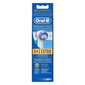 PIÈCE BEAUTÉ BIEN-ÊTRE Oral-B Cross Action 8+2 PC pack, Bleu, Blanc