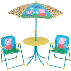 Table et chaise de jardin avec parasol - Achat / Vente Table et ...