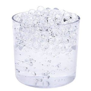 BILLES - PERLES DÉCO 20 paquets de Transparent Aqua Eau Cristal Soil Ge