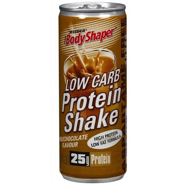 WEIDER Canette de Low Carb Protein Shake Capu