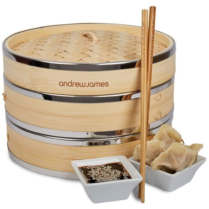panier vapeur bambou achat vente panier vapeur bambou pas cher cdiscount. Black Bedroom Furniture Sets. Home Design Ideas