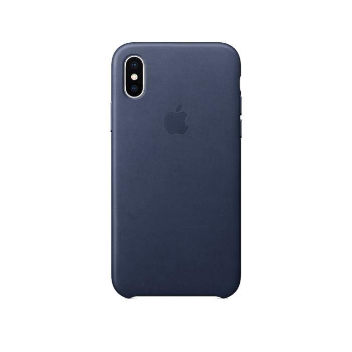 coque iphone xr bleue