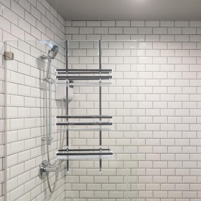 Etagère douche en acier inox 304 salle de bains accessoires - Achat ...