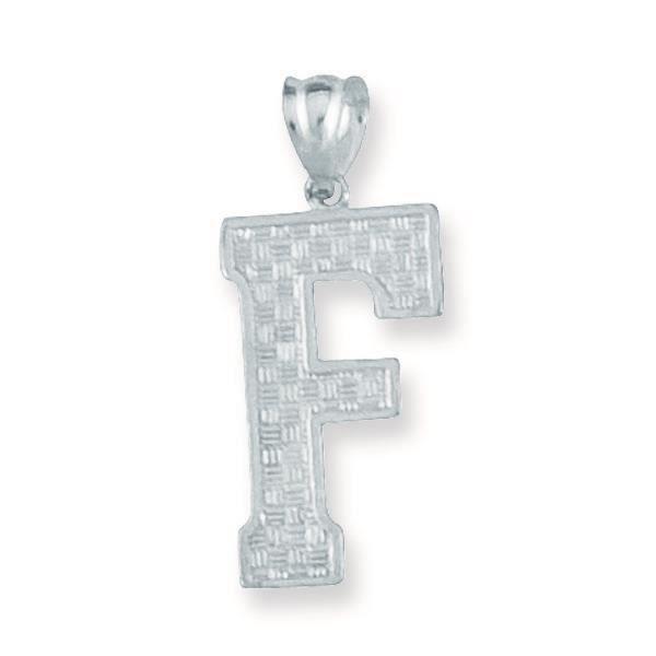 Charm en argent Sterling Motif initiale F