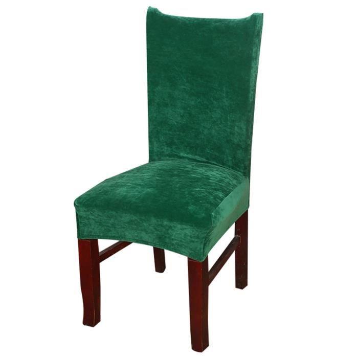 chaises velours de salle a manger achat vente pas cher. Black Bedroom Furniture Sets. Home Design Ideas