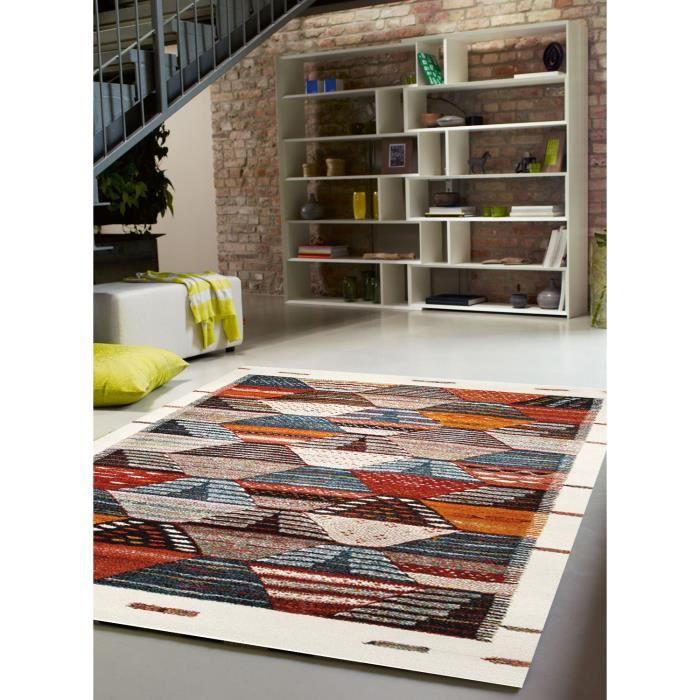 Tapis salon BERBER orange 120x170, par Esprit, Tapis moderne - Achat ...