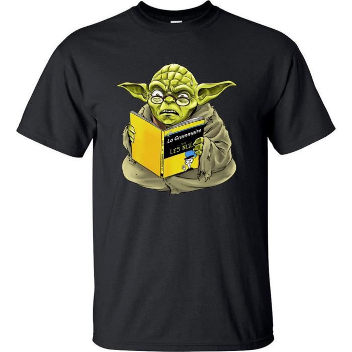 tee shirt homme star wars humour dr le noir achat. Black Bedroom Furniture Sets. Home Design Ideas