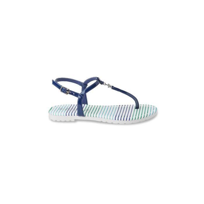 42ed87c0887dd Sandale bleu marine femme - Achat   Vente pas cher
