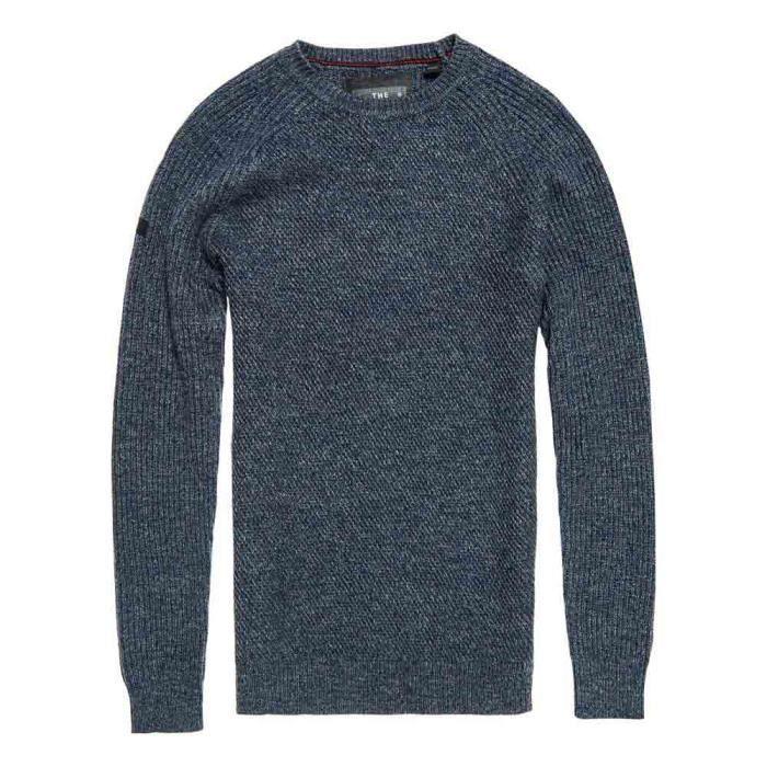 66aae425fd21 Liner Pull Homme University Superdry Vêtements Overs Crew Bleu 1Xzgq41x