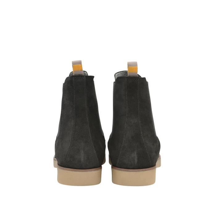 Frank Wright Bottes Chelsea noir Homme MFW433BS8