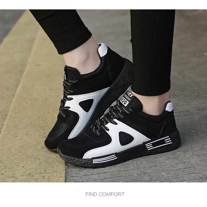 Chaussures de sport décontractées pour femmes Chaussures respirantes pour étudiants Chaussures de course à plat