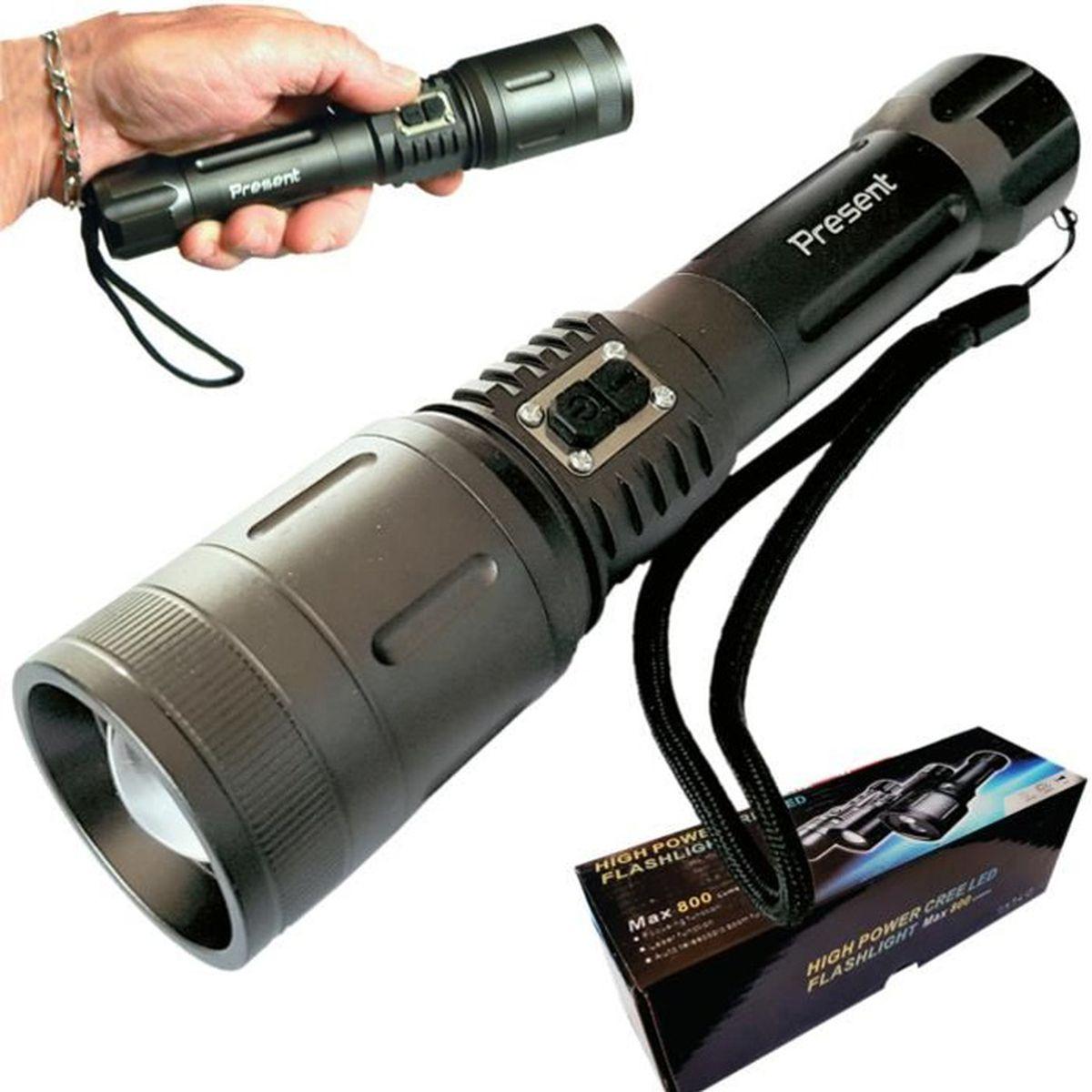 le torche rechargeable ultra puissante d une portée de 500 m