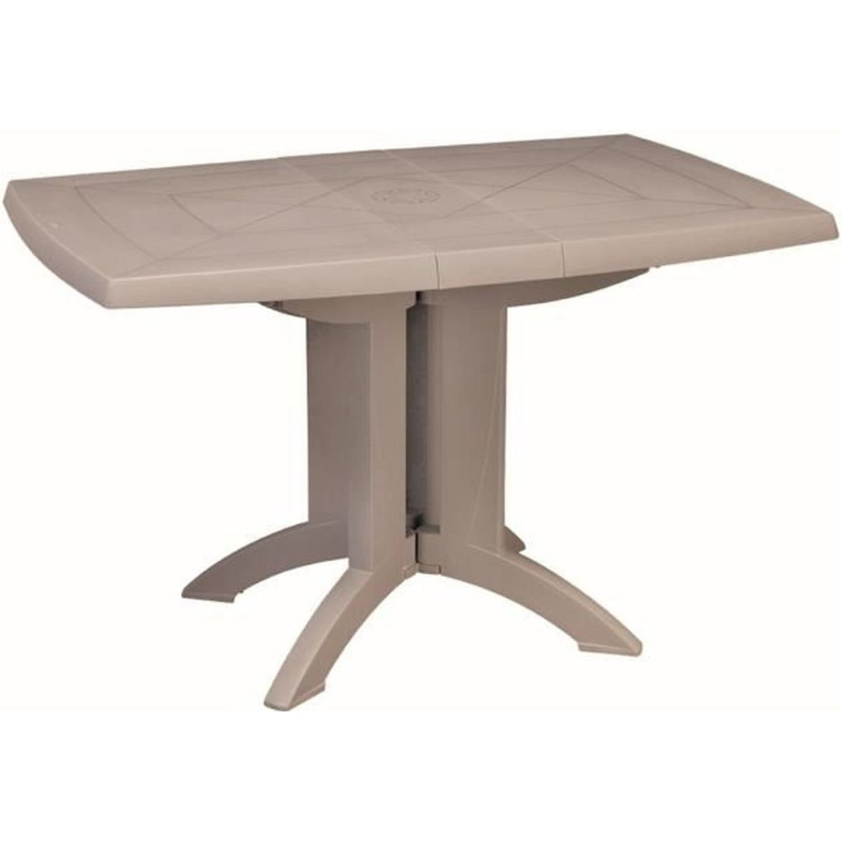 Awesome table de jardin pliante vega pictures awesome for Table pliante