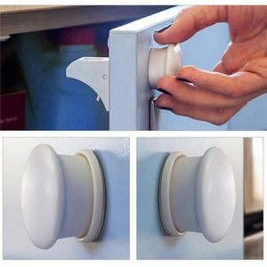 BLOQUE TIROIR Bébé Magnétiques Placard Serrures de Sécurité pour