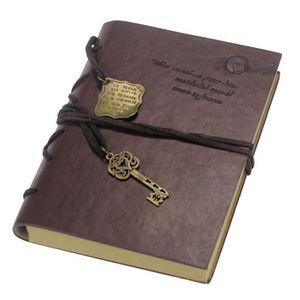 2c2284f79244 CARNET DE NOTES Nouveau Vintage Magic Key chaîne rétro carnet de n