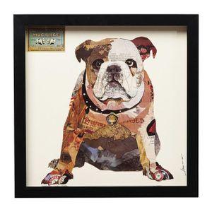 Fabuleux Tableau bulldog - Achat / Vente pas cher #RS_57