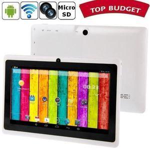 TABLETTE ENFANT Tablette-PDA blanc Tactile 7 pouces Android 4 Wifi