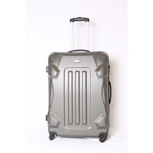 VALISE - BAGAGE Valise trolley Grande taille 4 roues 75cm ABS Rigi