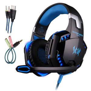 CASQUE  - MICROPHONE Casque Gaming Micro Casque Filaire PC Xbox One Mic