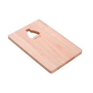 PLANCHE A DÉCOUPER LAGUIOLE - Planche à découper en bois d'hévéa mass