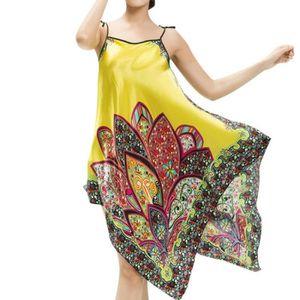 PYJAMA Féminine Chemise de nuit Style ethnique de mode