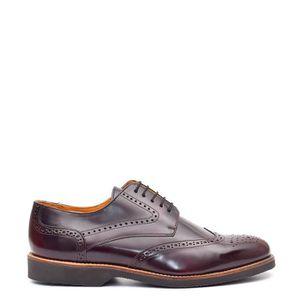 MOLIÈRE Chaussures en cuir Kylan Bordeaux - Semelle en cao