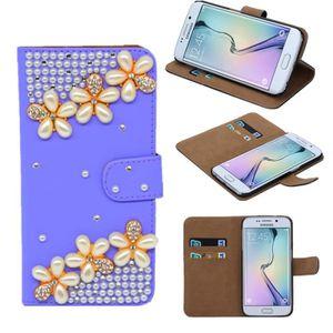 COQUE - BUMPER PIPIHUA® Coque pour Samsung Galaxy S6 Edge (purple