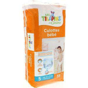 COUCHE LES TILAPINS Culottes bébé Taille 5 12 à 18 kg X38