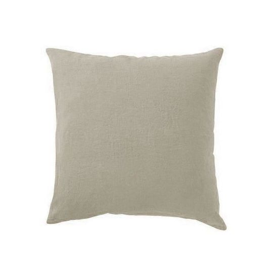 Taie d\'oreiller LIN Taupe - Couleur - Taupe, Taille - 50x75 - Achat ...