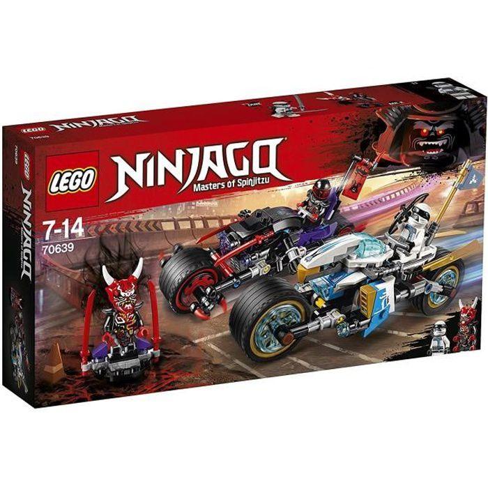 LEGO® NINJAGO® 70639 La Course de rues en motos
