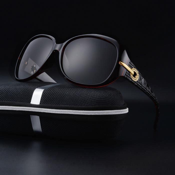 2db8fc87d9d6b Femmes Dior Mode Lunettes de soleil Marron - Achat / Vente lunettes ...