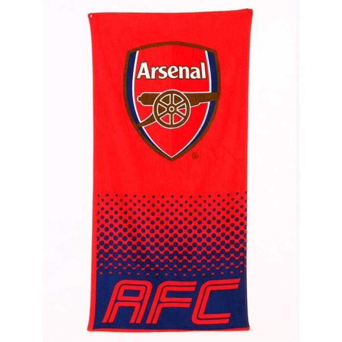 Serviette De Plage Arsenal.Arsenal Fc Fade Serviette