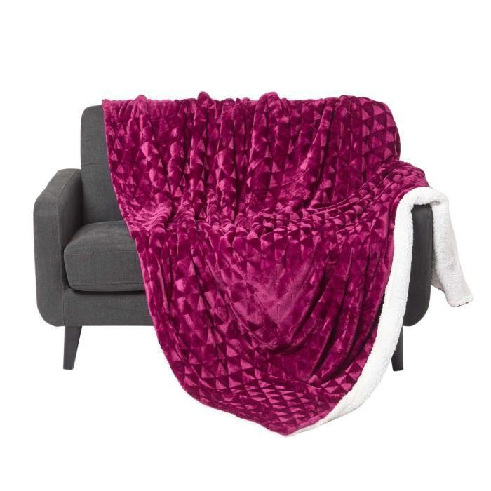 couverture pour lit 160x200 achat vente couverture pour lit 160x200 pas cher soldes d s. Black Bedroom Furniture Sets. Home Design Ideas