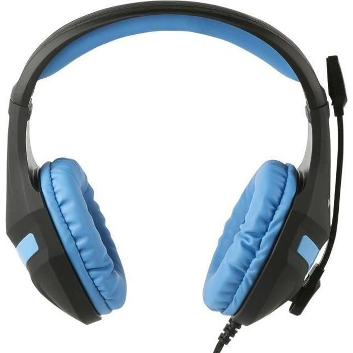 CASQUE AVEC MICROPHONE Casque Gaming Konix PS-400 pour PS4 Bleu