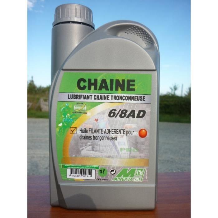 huile de chaine pour tronconneuse 1 litre - achat / vente huile de