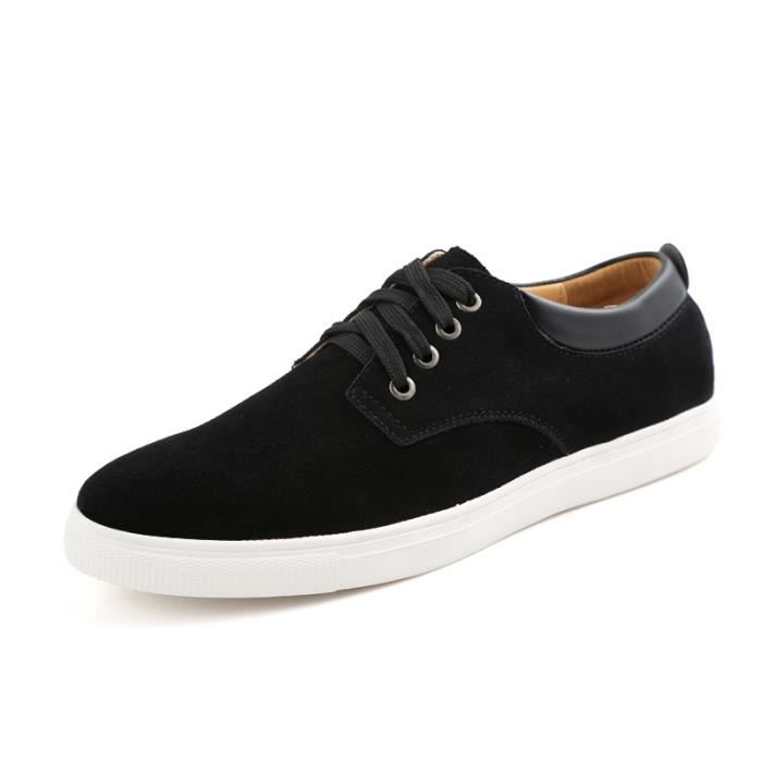 IZTPSERG Chaussure Mocassins homme - Suede classic oxford chaussures cuir homme