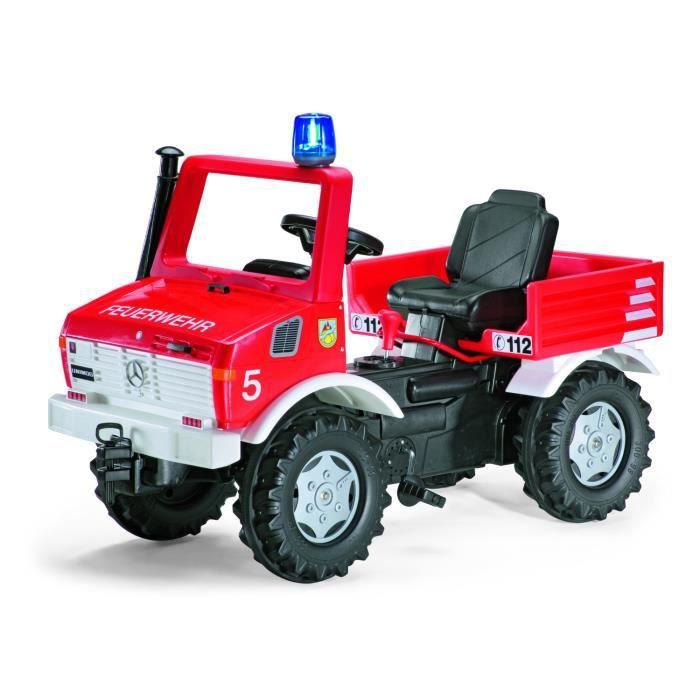 5f8c99bc0ebe Camion de pompier a pedales - Achat   Vente jeux et jouets pas chers