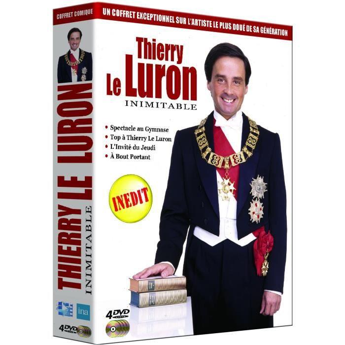 DVD SÉRIE Thierry le luron : Inimitable - Coffret DVD