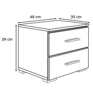 table de chevet brute achat vente table de chevet brute pas cher soldes d s le 10 janvier. Black Bedroom Furniture Sets. Home Design Ideas