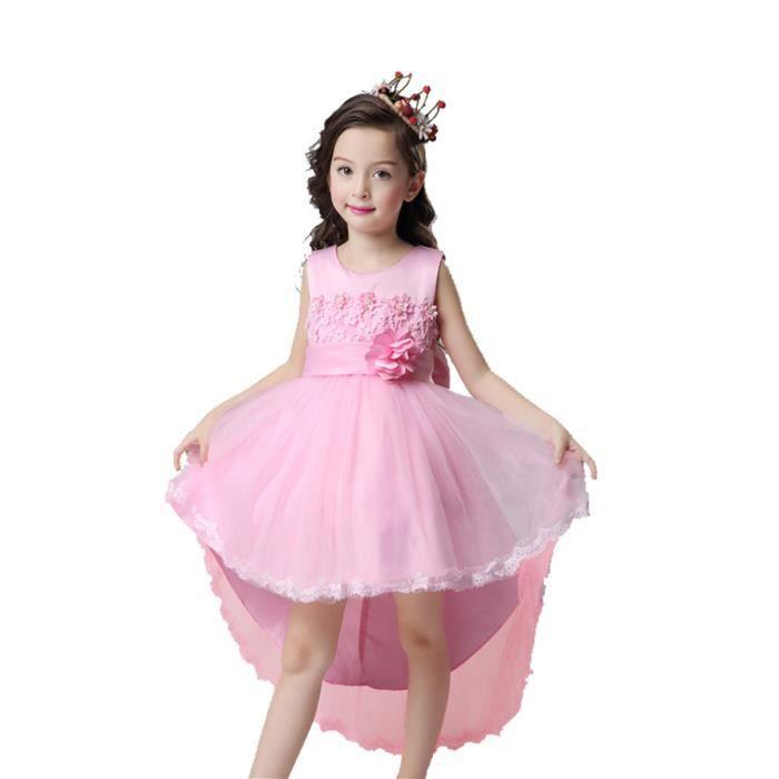 Robe sans Manches Pour les Enfants2017 Nouvelle Robe de Princesse