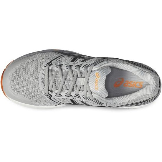 13fb40052faa7d Asics GEL-Phoenix 8 T6F2N-9690 Homme Baskets Gris,Noir,Orange Gris Gris,noir,orange  - Achat   Vente basket - Cdiscount