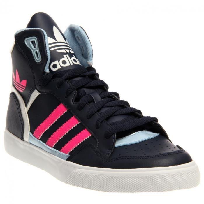 Extraball Femme Noir Chaussures Baskets Et Adidas Originals Rose A5c4RjLq3