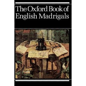 PARTITION The Oxford Book of English Madrigals - Vocal score
